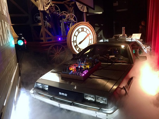 DeLorean automobile replica, Back to the Future III