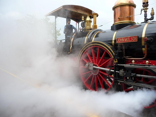 John Molson steam engine